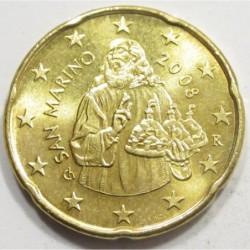 20 eurocent 2008