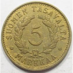 5 markkaa 1950