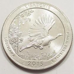 quarter dollar 2015 D - Kisatchie