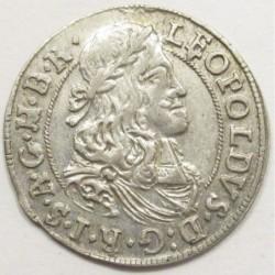 Leopold I. 3 kreuzer 1675 - Hall