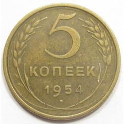 5 kopeks 1954