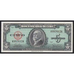 5 pesos 1960