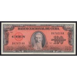 100 pesos 1959