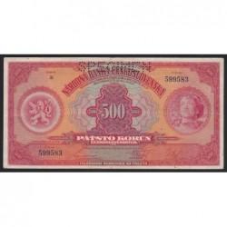 500 korun 1929 - SPECIMEN