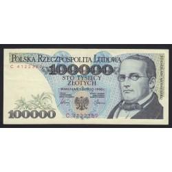 100.000 zlotych 1990