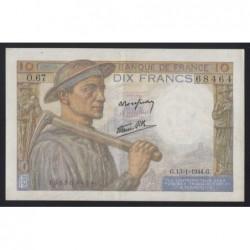 10 francs 1944