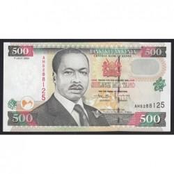 500 shillings 2001