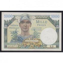 1000 francs 1947- Tresor Francais