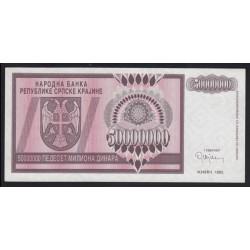 50.000.000 dinara 1993