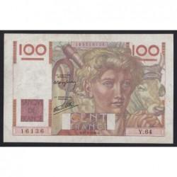 100 francs 1946