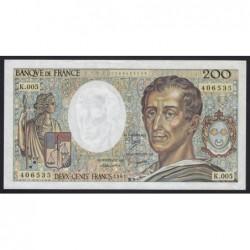 200 francs 1981