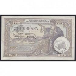 100 dinara 1929 - Verificato