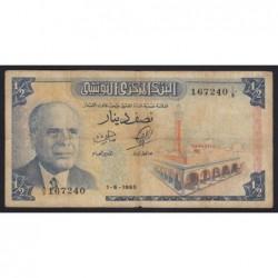 1/2 dinar 1965