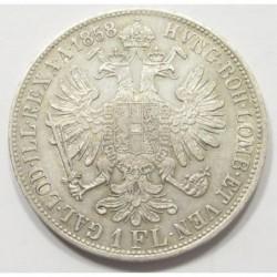 1 florin 1858 B