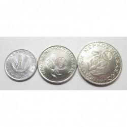20 fillér-5-10 forint 1983 - FAO-set