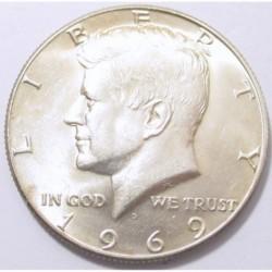 half dollar 1969 D