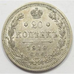 20 kopeks 1910
