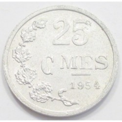 25 centimes 1954