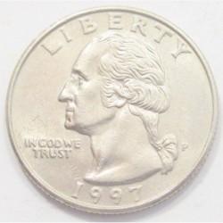 quarter dollar 1997 P