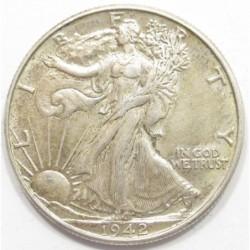 half dollar 1942