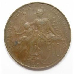 10 centimes 1913