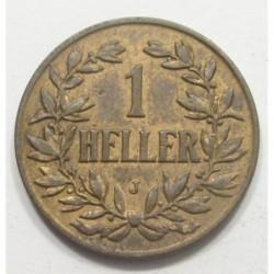 1 heller 1907 J