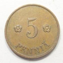 5 pennia 1935