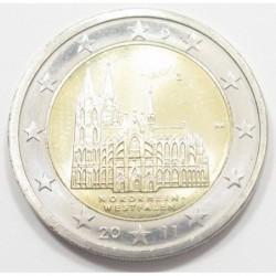2 euro 2011 G - State of North Rhine-Westphalia