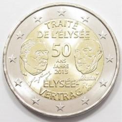 2 euro 2013 - Élysée Treaty