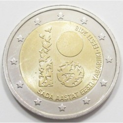2 euro 2018 - Estonian independence