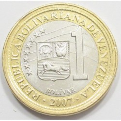 1 bolivar 2007