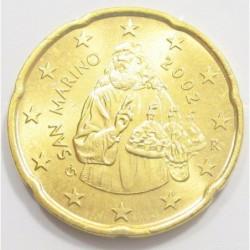 20 eurocent 2002