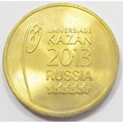 10 rubel 2013 - Summer Universiade Kazan Logo