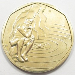 200 forint 2000 - Thinking statue