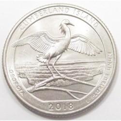 quarter dollar 2018 P - Cumberland Island