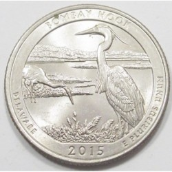 quarter dollar 2015 D - Bombay Hook