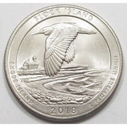 quarter dollar 2018 P - Block Island