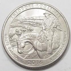 quarter dollar 2016 P - Thedore Roosevelt