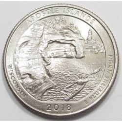 quarter dollar 2018 P - Apostle Islands