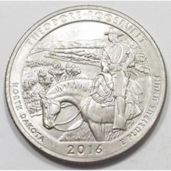 quarter dollar 2016 D - Theodore Roosevelt