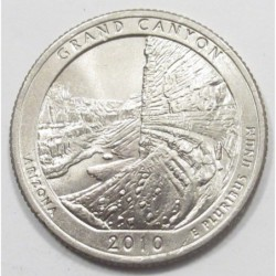 quarter dollar 2010 D - Grand Canyon