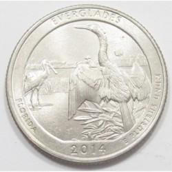 quarter dollar 2014 P - Everglades