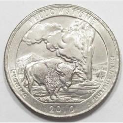 quarter dollar 2010 D - Yellowstone
