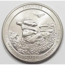 quarter dollar 2016 D - Shawnee