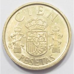 100 pesetas 1988