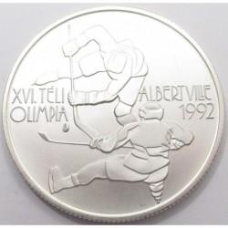 500 forint 1989 - Albertville Winter Olympics