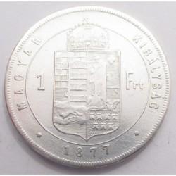 1 forint 1877
