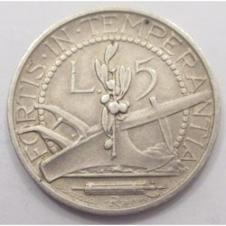 5 lire 1932