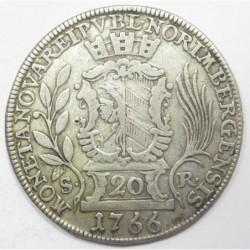 Joseph II. 20 kreuzer 1766 - Nürnberg