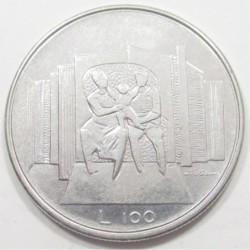 100 lire 1976 - Családok éve